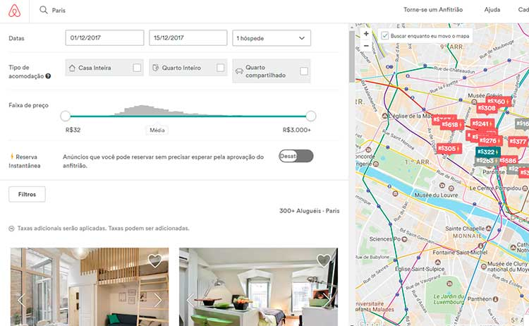 Hospedagem - Airbnb em Paris