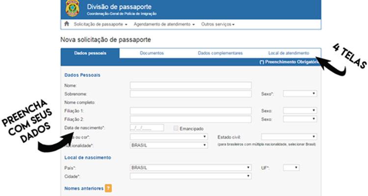 Emissão passaporte brasileiro