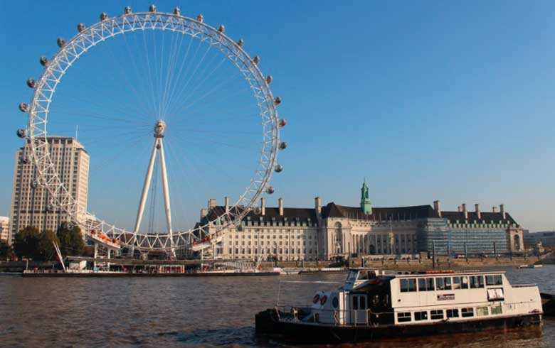 London-Eye 7 pontos turísticos imperdíveis em Londres