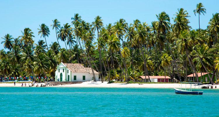 praia-carneiros-casamento-na-praia Casamento na praia: Conheça lugares no Brasil para oficializar sua união