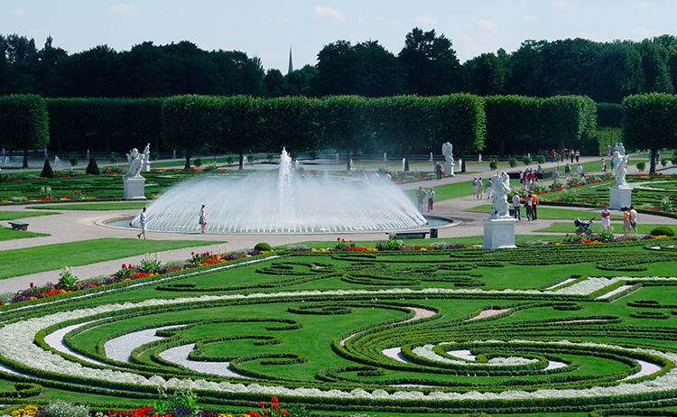 Schlosspark Charlottenburg - Parque do Palácio Charlottenburg