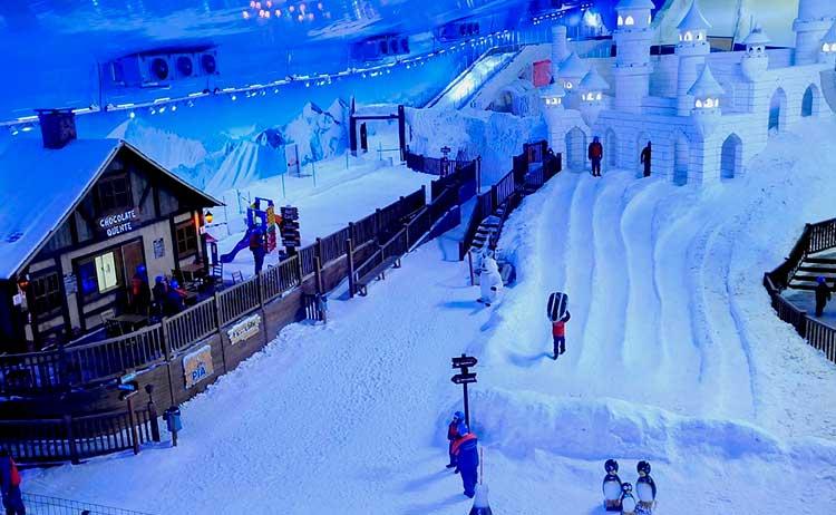 Snowland O que fazer em Gramado