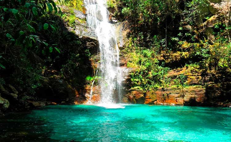 Cachoeira-Santa-Bárbara-Chapada-dos-veadeiros Cachoeiras Brasileiras para conhecer em 2017
