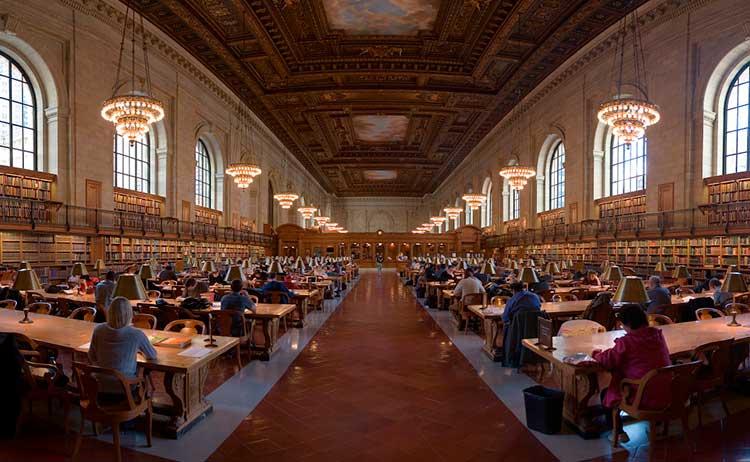 Biblioteca Pública de Nova York, EUA