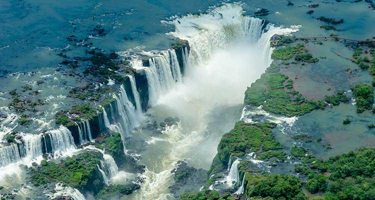 CataratasIguacu Conheça os maiores Patrimônios Culturais da Humanidade