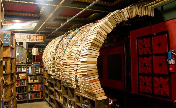 TheLastBookstoreLosAngeles 7 lugares no mundo para amantes da leitura