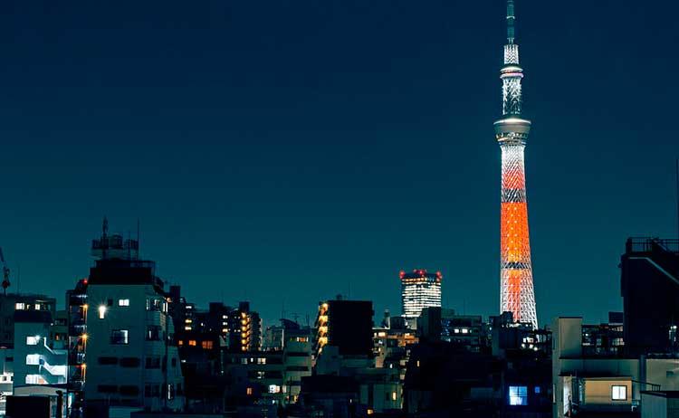 Ver e fazer no Japão à noite