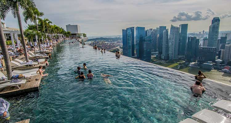 Marina Bay Sands Casino - Cingapura