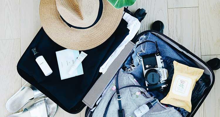 Hora de fazer a mala: faça sua lista