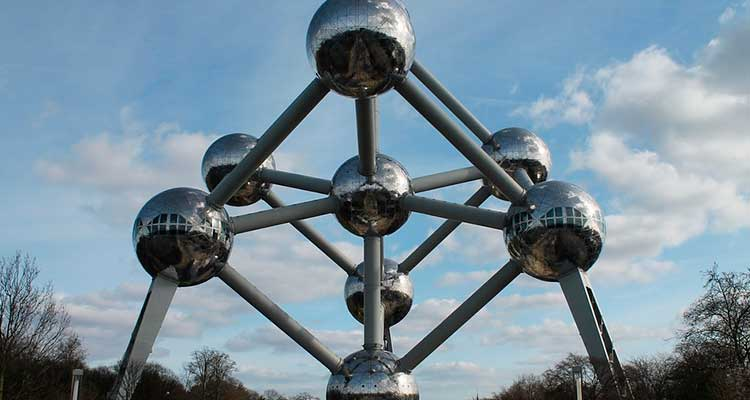 AtomiumdeBruxelas 5 lugares para visitar em Bruxelas