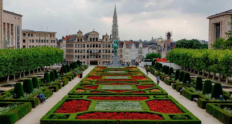 JardinsdoMontsdeArts 5 lugares para visitar em Bruxelas