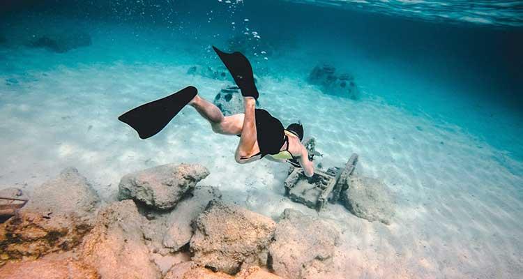 San Andrés o que fazer Praticar mergulho