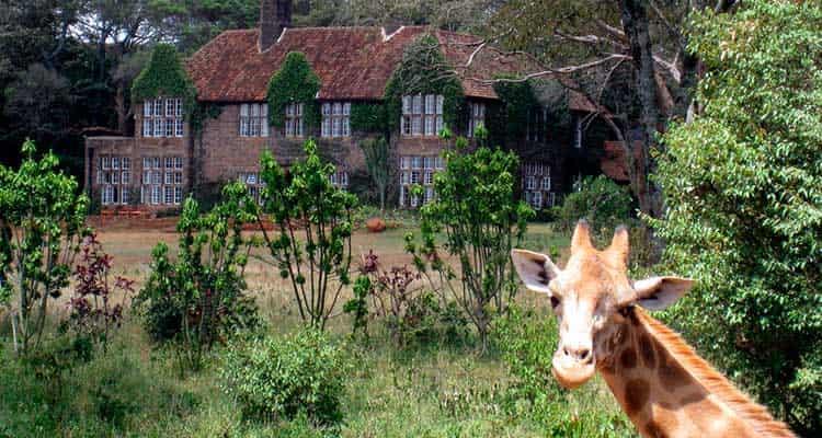 GiraffeManorvontadedeviajar-min 6 hotéis que vão te deixar com vontade de viajar