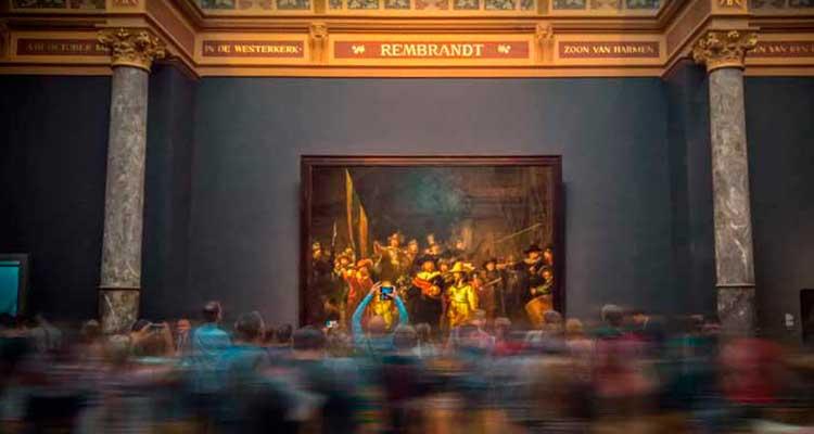 viagem para Amsterdam e conhecer o Museu de Van Gogh