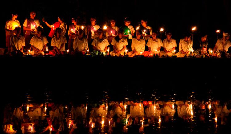 lanternas2 Viaje para Tailândia: Conheça o Festival das Lanternas