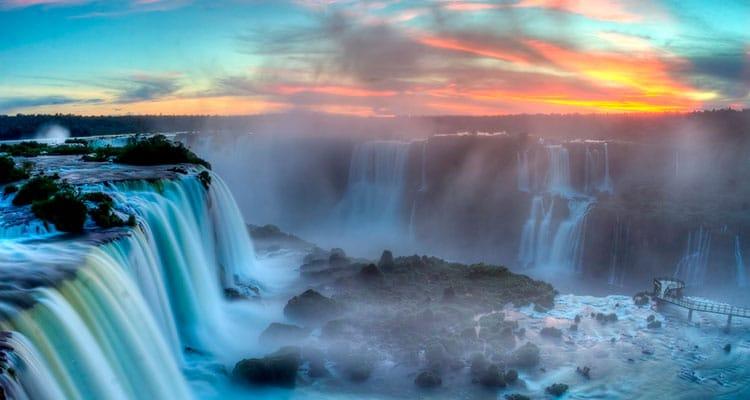 Cataratas do Iguaçu no filme Pantera Negra