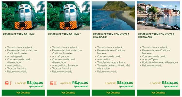 morretes1 Passeio de trem para Morretes: uma viagem imperdível saindo de Curitiba