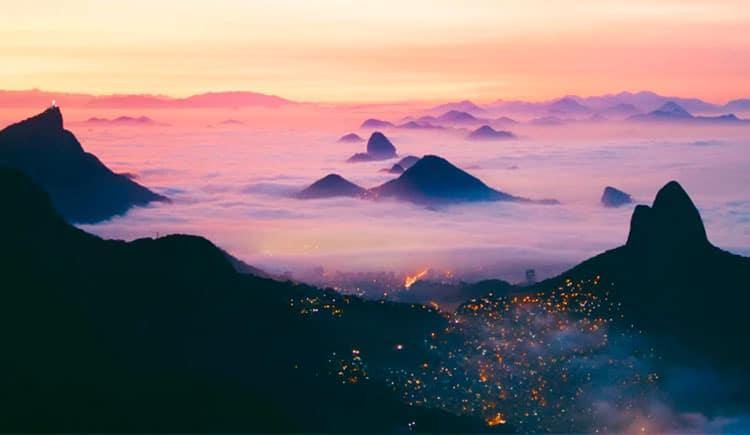 lugares diferentes no Rio de Janeiro