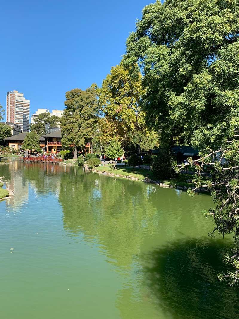 Lago-Jardim-Japones-Buenos-Aires Roteiro de 4 dias em Buenos Aires