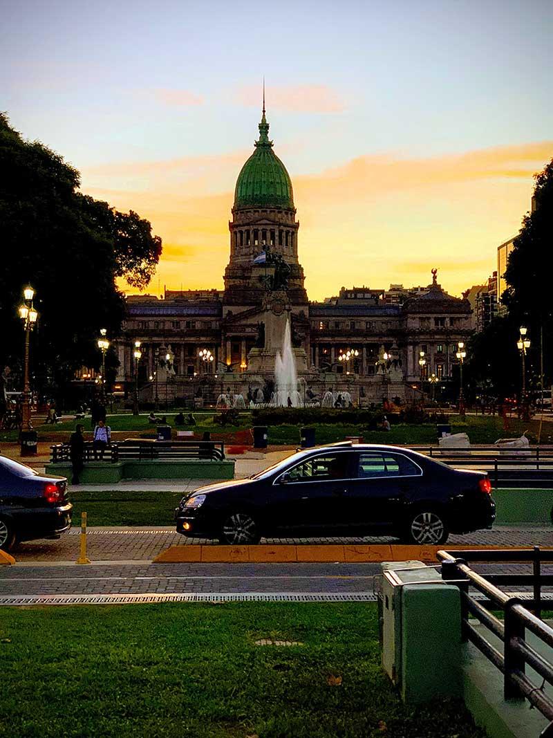 Praça-do-Congresso-Buenos-Aires Roteiro de 4 dias em Buenos Aires