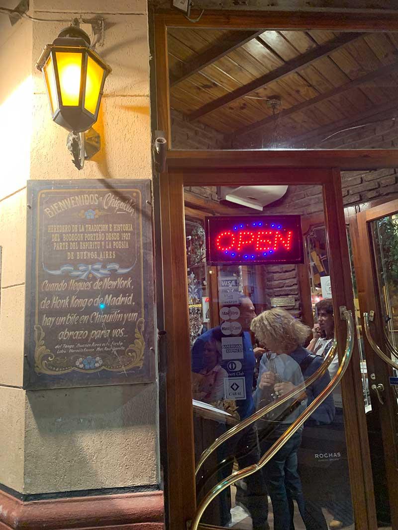 Restaurante-em-Buenos-Aires Roteiro de 4 dias em Buenos Aires