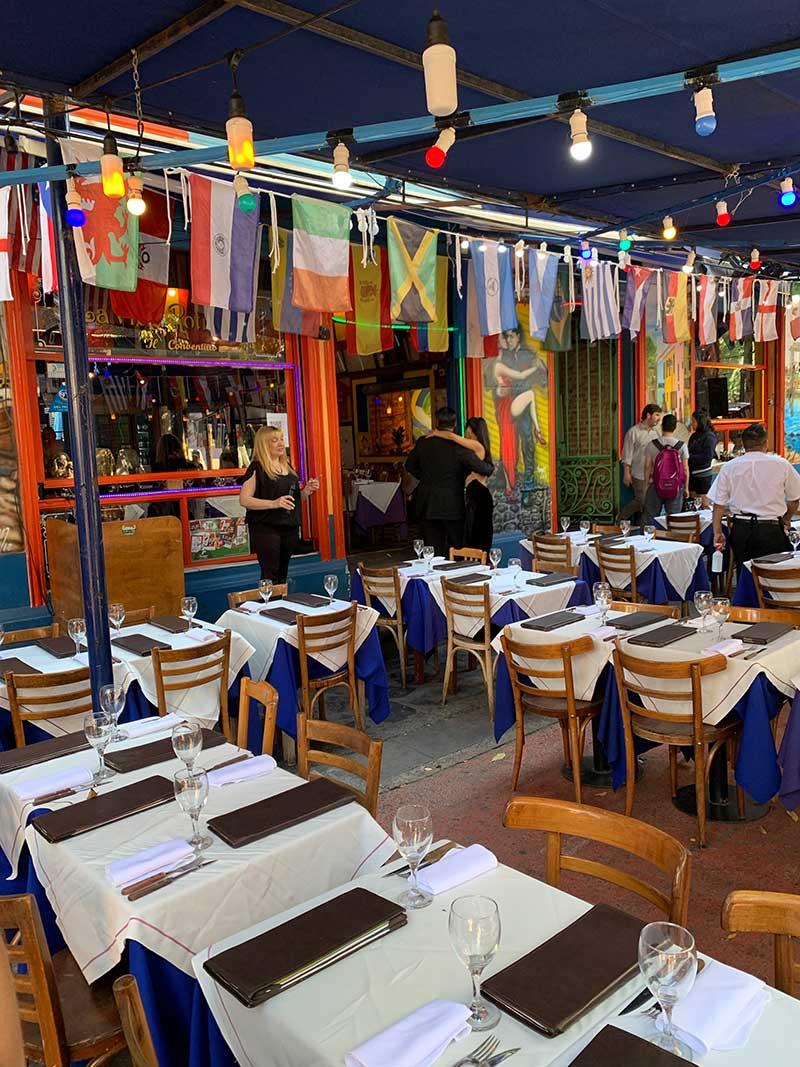 Restaurantes-Caminito-Buenos-Aires Roteiro de 4 dias em Buenos Aires