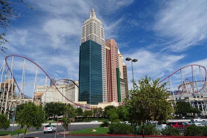 montanha-russa O que fazer em Las Vegas