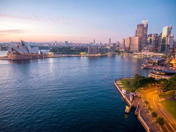 Austrália, vista panoramica