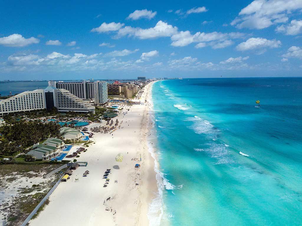 Cancun-1024x767 Melhores praias do México: conheças as praias mais bonitas e paradisíacas para se divertir