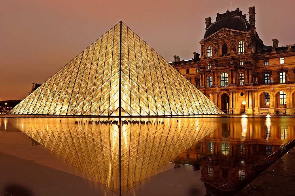 Paris-Louvre-1024x682 Roteiro Europa 20 dias: 2 roteiros de viagem completos para sua Eurotrip