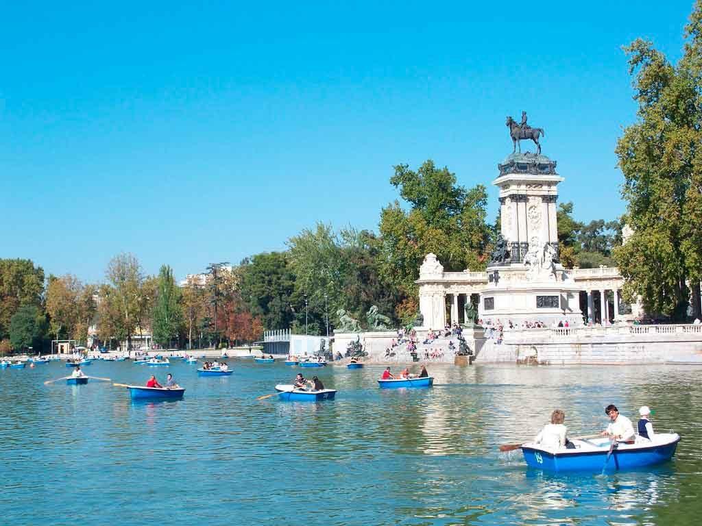 Parque-del-Retiro-em-Madrid-1024x768 O que fazer em Madrid em 3 dias: roteiro completo
