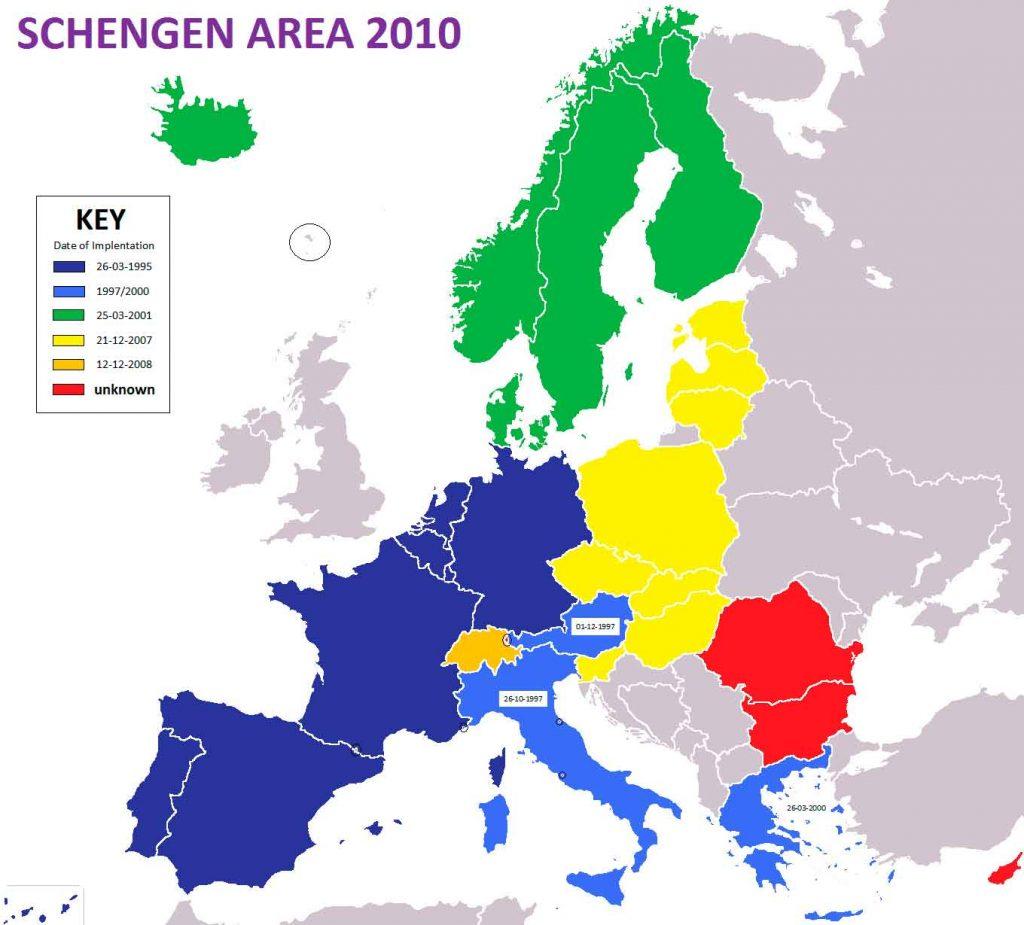 Schengen-italia-1024x925 Seguro Viagem para Itália é obrigatório: como funciona