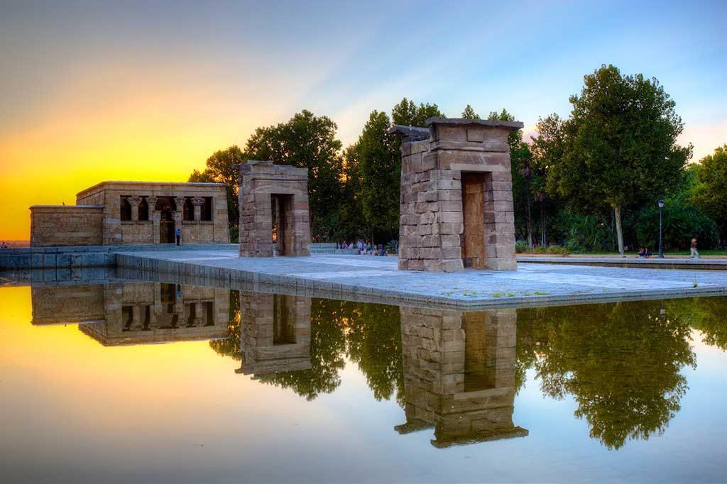 Templo-de-Debod-madrid-1024x682 O que fazer em Madrid em 3 dias: roteiro completo