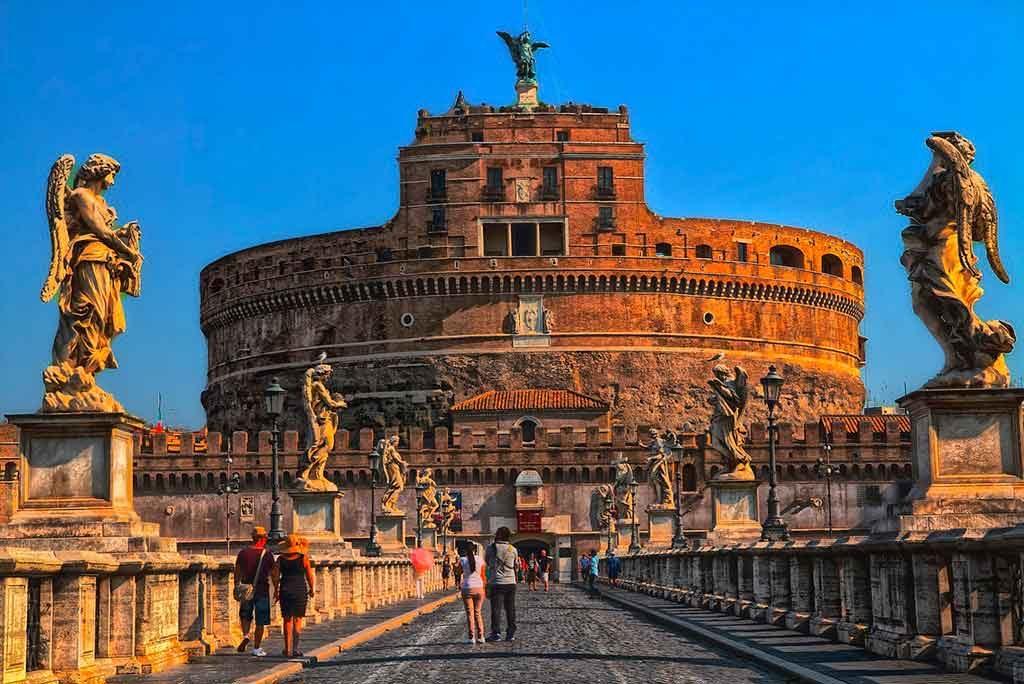 Castelo-de-Santo-Ângelo-1024x684 Roma em 3 dias. O que fazer? Roteiro e dicas