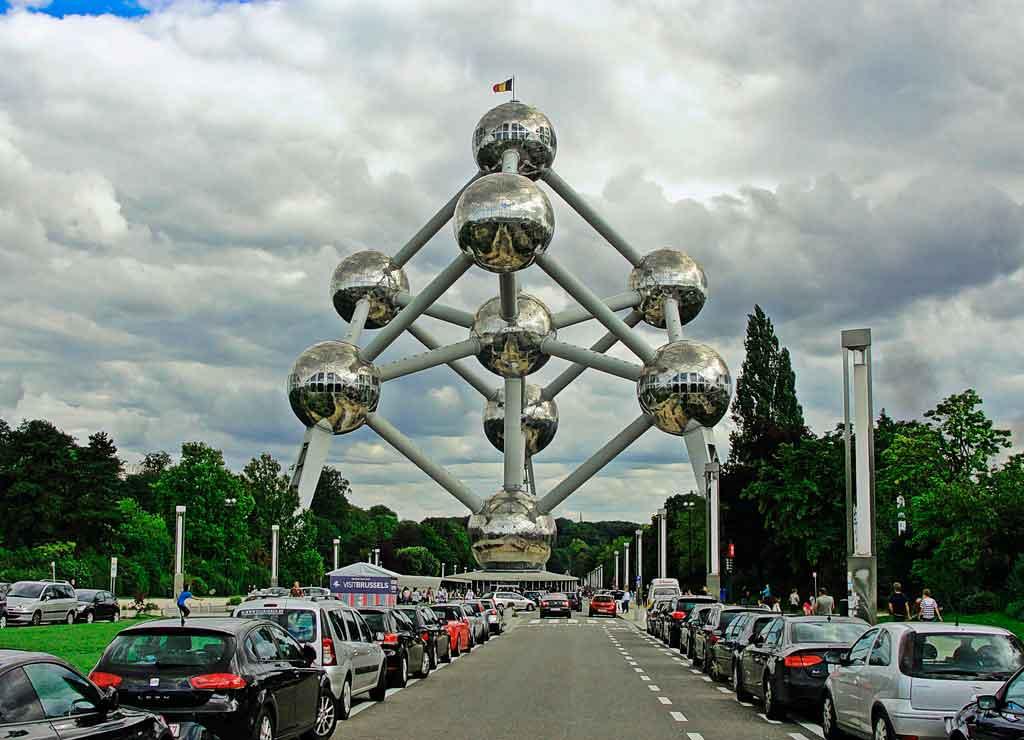 Atomium-Belgica Turismo na Bélgica: dicas, passeios e atrações turísticas
