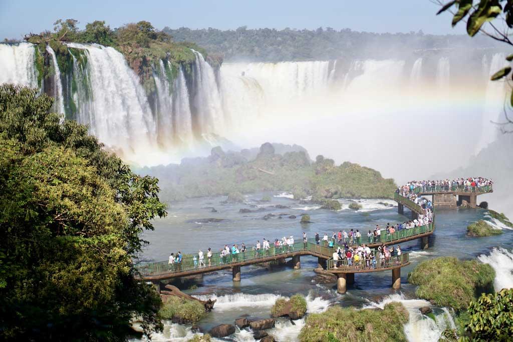 iguacu-Turismo-na-argentina Turismo na Argentina: quando viajar, mapa e cidades turísticas